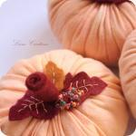 Decorative Fabric Pumpkins..